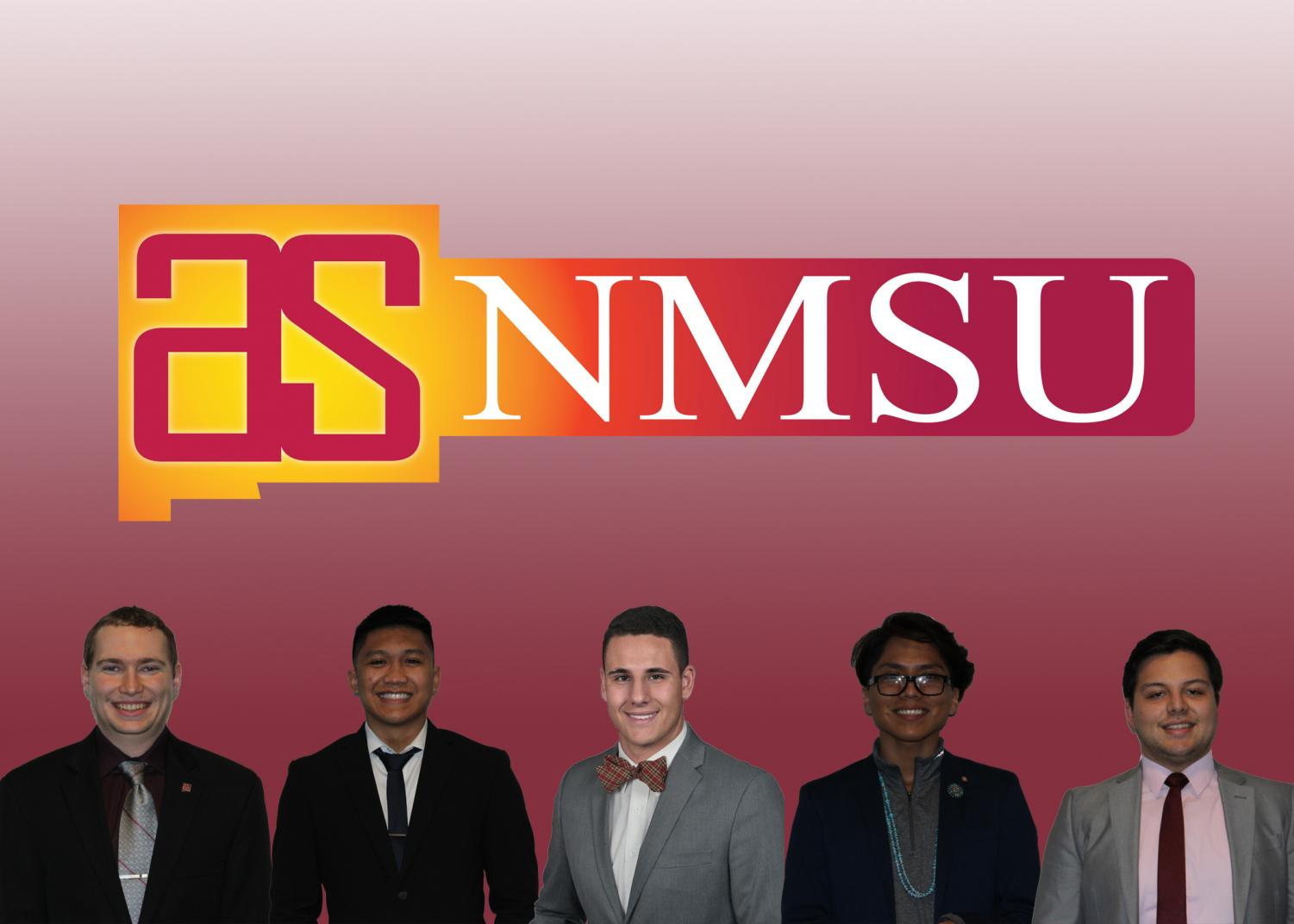 Five students are running for presidential office for ASNMSU.