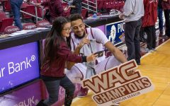 Jans, NM State clinch third straight WAC regular season title with win over UTRGV