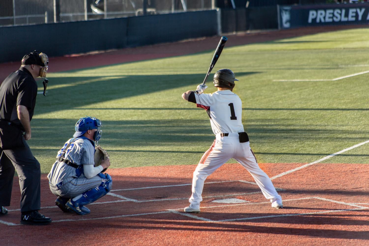 New Mexico State struggled on offense in their conference opener to CSUB Friday night, scoring under five runs for just the fourth time this season.