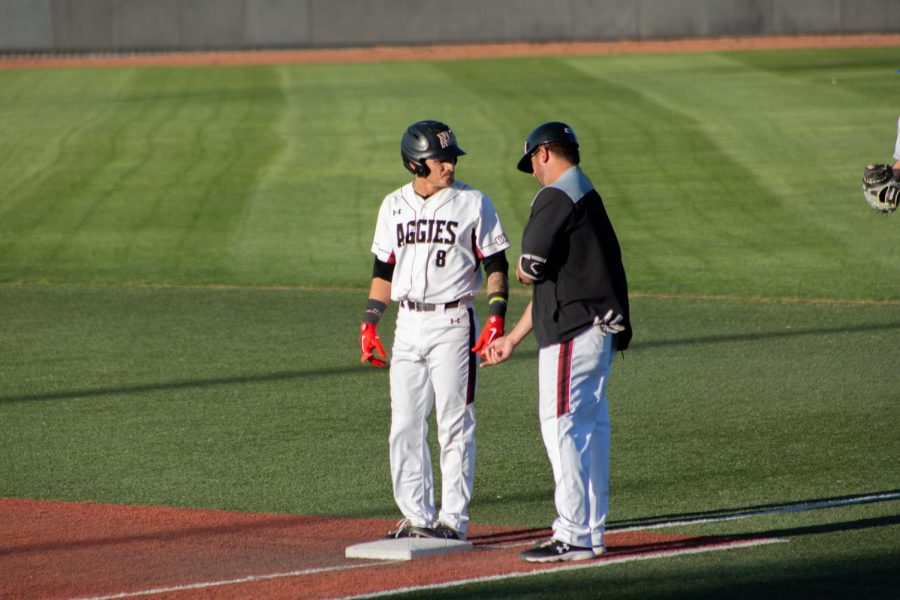 New Mexico State pulls into joint-first place in the WAC after their win in Sunday's 19-9 battering of UNC.