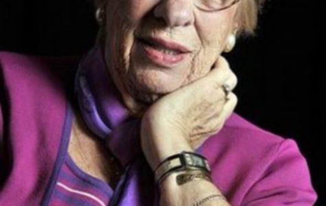 Anne Frank's step-sister, Holocaust survivor Eva Schloss visits NMSU