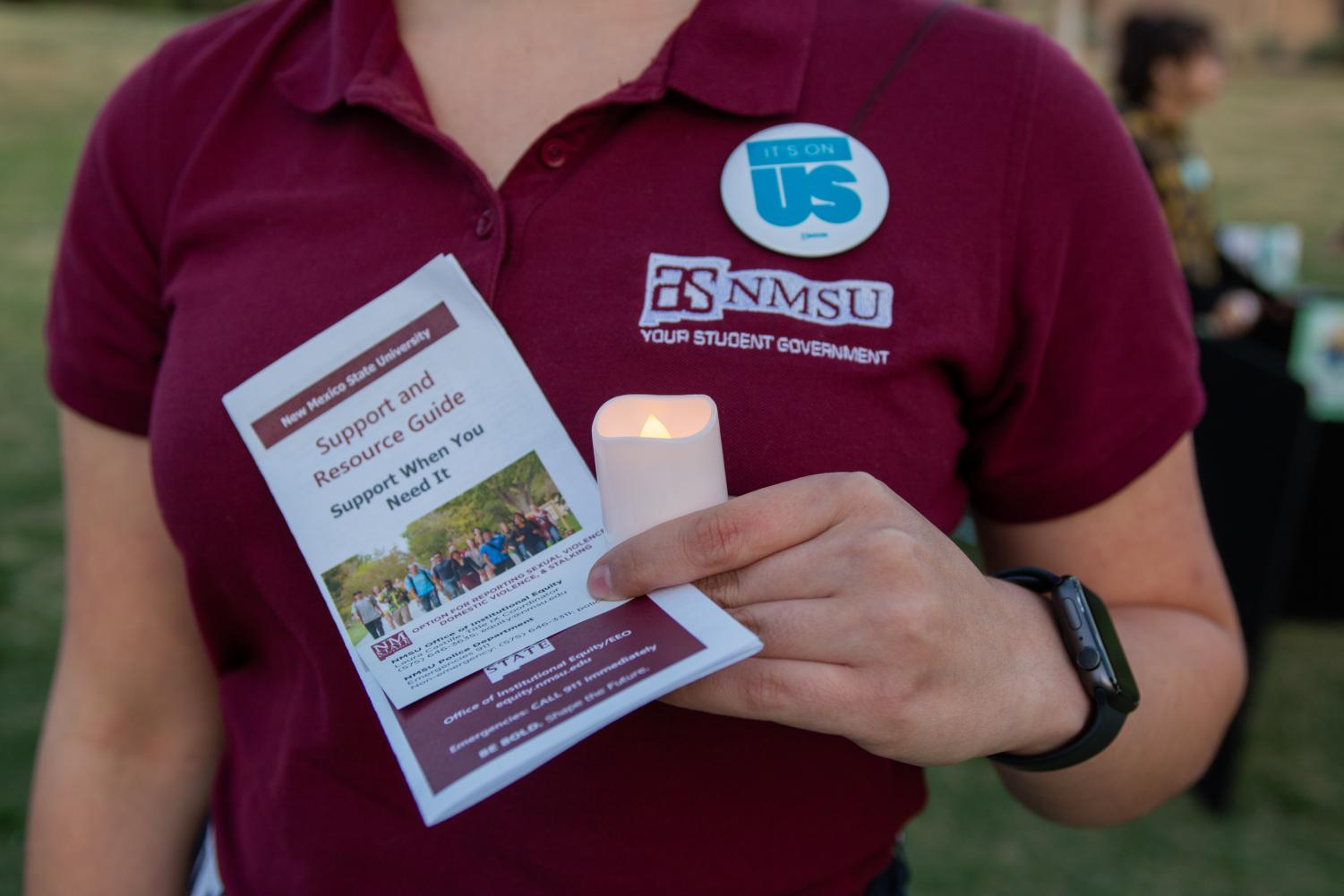 It's On Us is a sexual assault awareness campaign that has been on NMSU's campus for a week now.