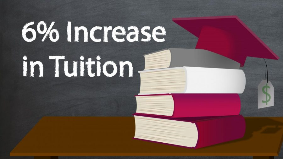 Increase in Tuition by 6%