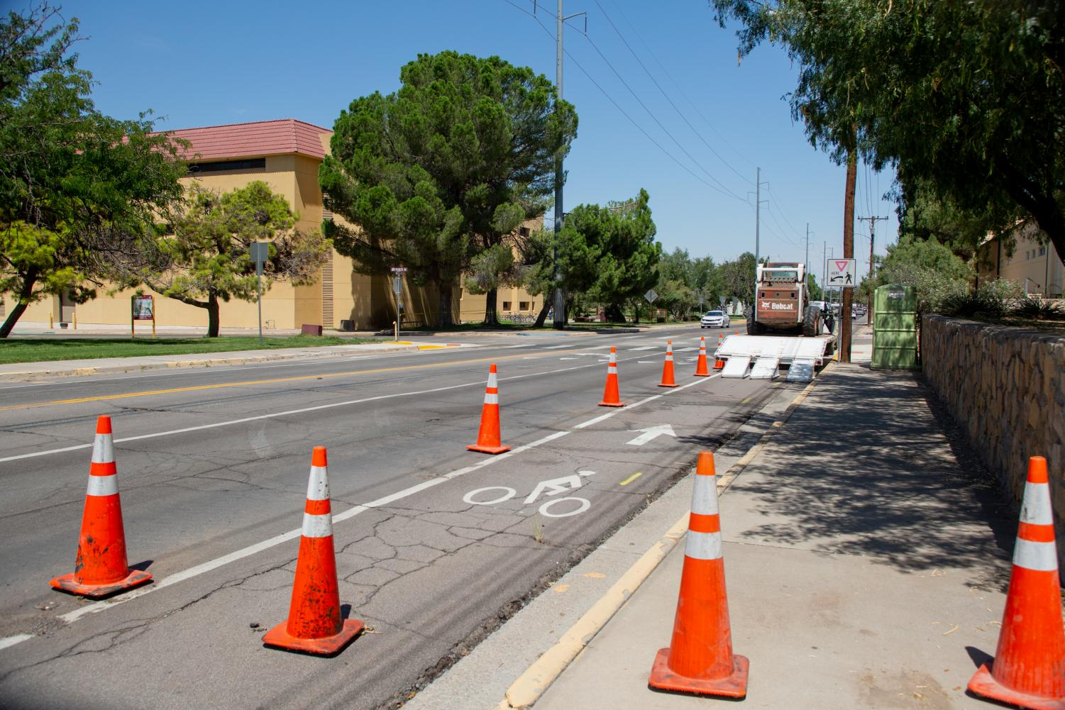 Construction along Espina Street will continue in the summertime.