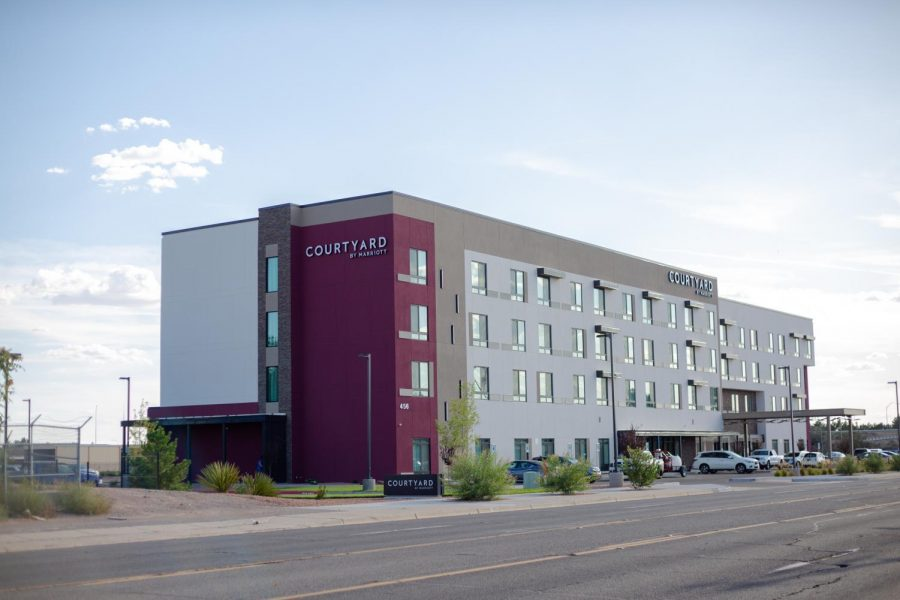 New hotel opened July 18 in partnership with HRTM program.
