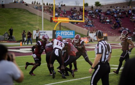 O-line troubles, turnovers sink New Mexico State in 31-10 loss to SDSU