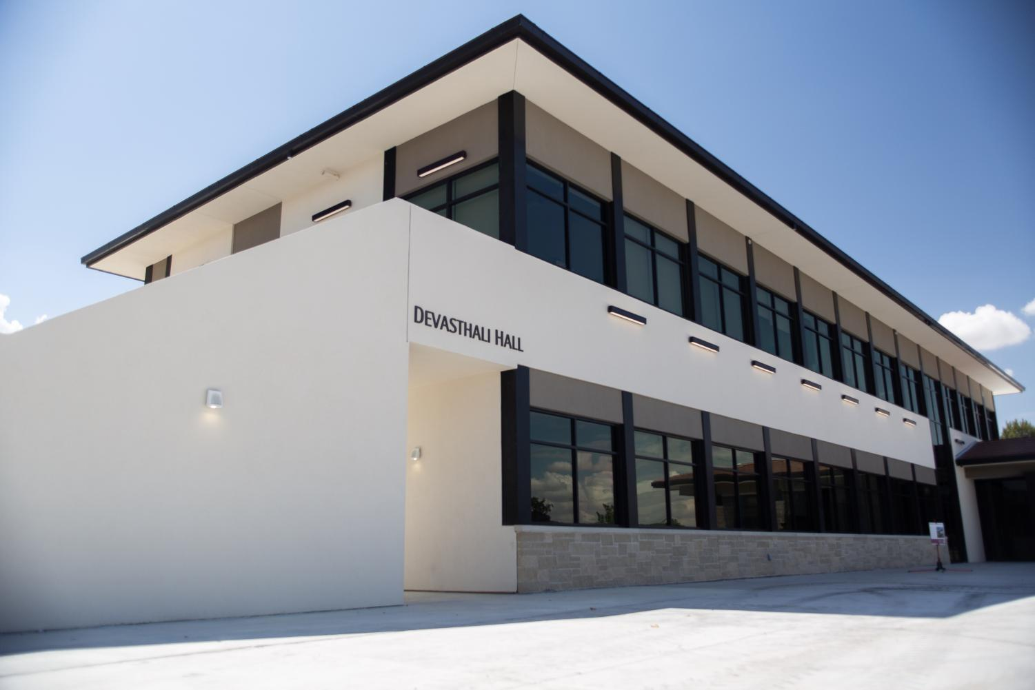 The Devasthali name will remain on the new art building for many years to come, in recognition of  the patrons who helped make the vision a reality.