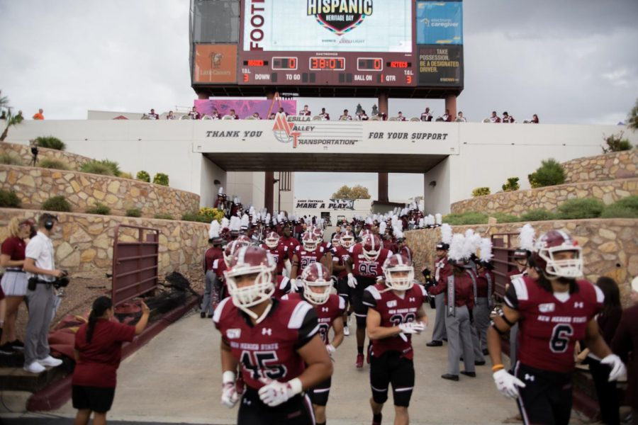 NM State improves on the defensive end but reverts back to their shoddy offensive play from earlier in the season in Saturday's 30-17 loss to Fresno State.