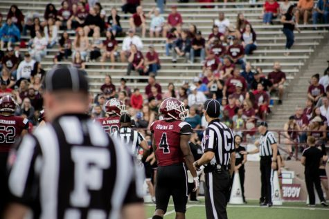 NM State football finishes month-plus long road trip at Ole Miss