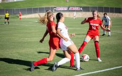 Aggie women's soccer stumbles in Battle of I-25