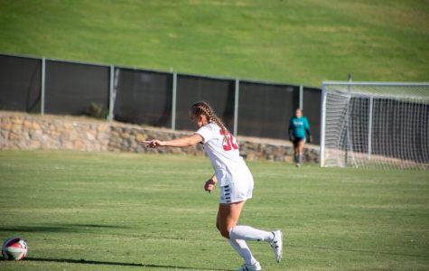 Late goal by Pacheco propels Aggies to first WAC win