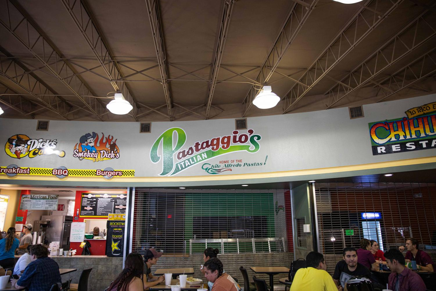 Pastaggio's in Frenger Food Court will soon be replaced by Sodexo.