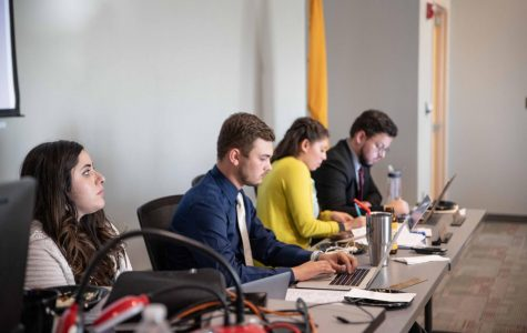 ASNMSU Senate to set limitations on candidates running together in elections