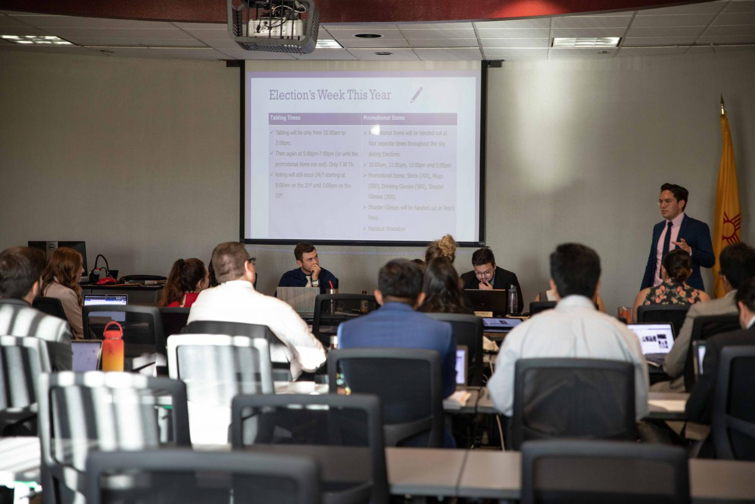 ASNMSU senate gathered Thursday, Sept. 26 to discuss and pass bills and resolutions brought to the floor.