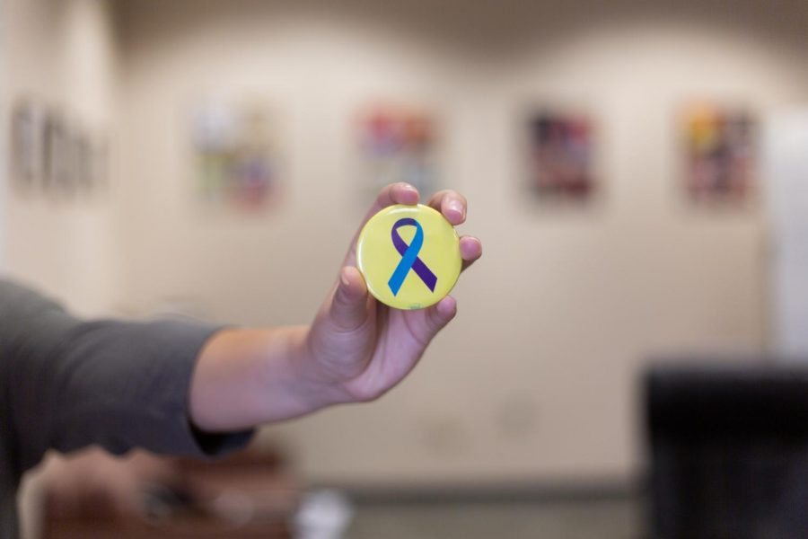 The month of September is National Suicide Prevention Month.