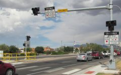 New pedestrian crossing signal soon to be in operation