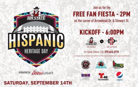 Fan Fiesta kicks off National Hispanic Heritage month at NMSU
