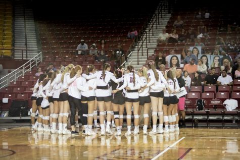 NM State volleyball riding high, clinches WAC Championship with week to spare