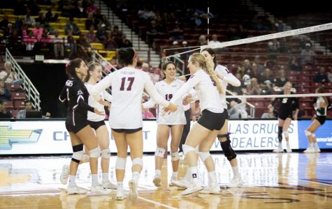 Aggies comeback in dramatic fashion to top CBU, secure 12th straight victory