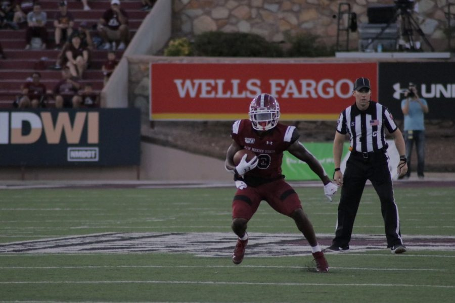 NM State looks to take advantage of the week off heading into the Aggies' road contest against Georgia Southern.