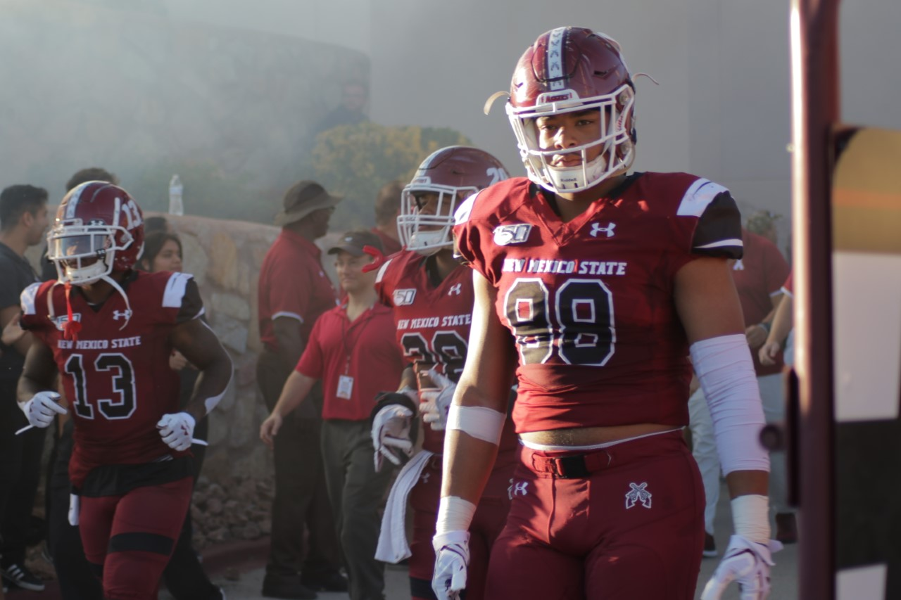 The Aggies look to bounce back after dropping a third-straight winnable game last Saturday vs. Liberty.