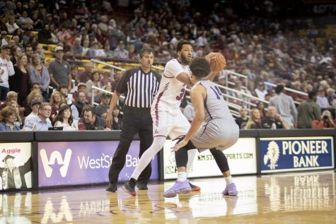 New Mexico State plays just their second game in the last 54 days, but get back in the win column ahead of the start of WAC play.