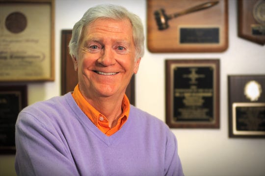 J. Sean McCleneghan was inducted into the NMPA hall of fame Oct. 26. He is the first college educator to be inducted.
