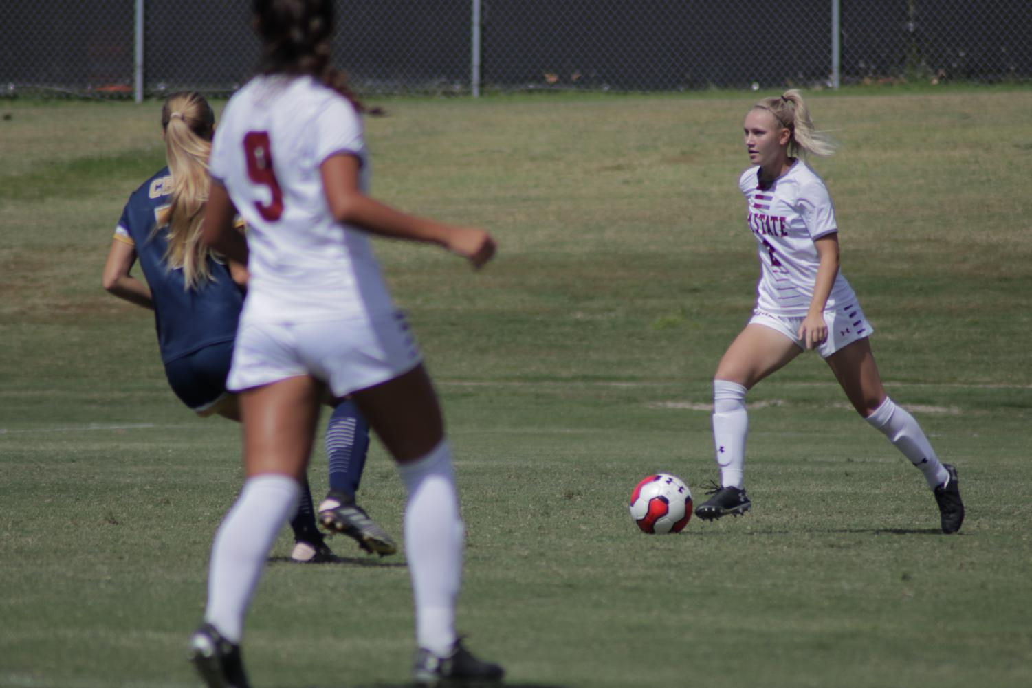 The Aggies look to double last season's win total this Saturday when they take on UTRGV for what shapes up to be an impactful Saturday of WAC soccer.