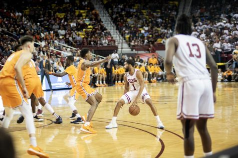 NM State turns in best performance of the season on Senior Night, tops UTEP for second straight