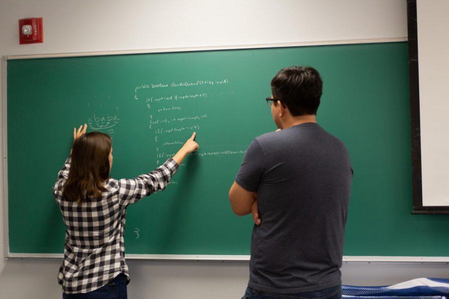 Francisco Natividad and NatashaNesiba are both graduates of NMSU's computer science department employed at Google.