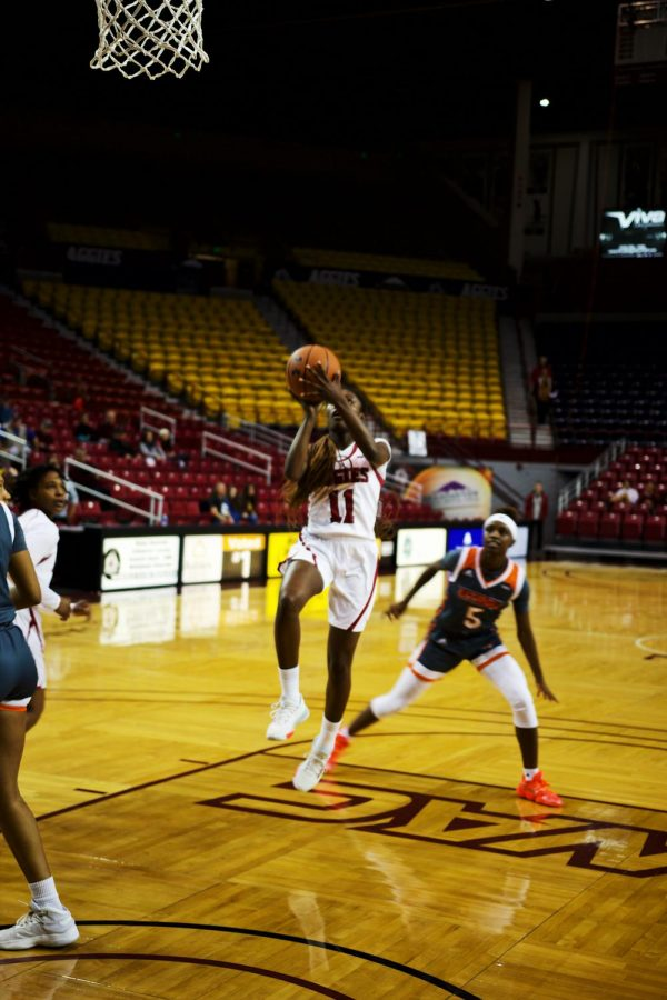 NM State women's basketball kick off final home stand with win over GCU