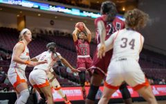 Aggies kick off tournament with resounding win in Pack's return to action