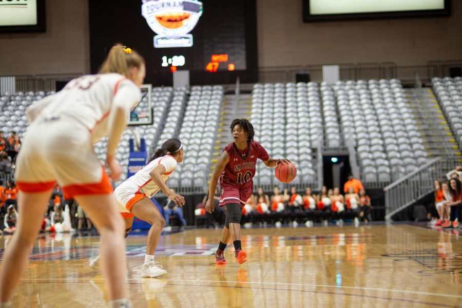 The New Mexico State women's basketball team will take on UTEP on Nov. 25 to start their season, but where they will practice beyond that is still unknown.