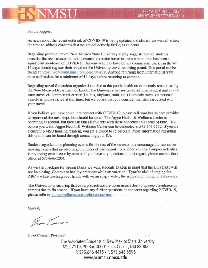 ASNMSU+president+Evan+Conner%27s+letter+to+students+amid+COVID-19