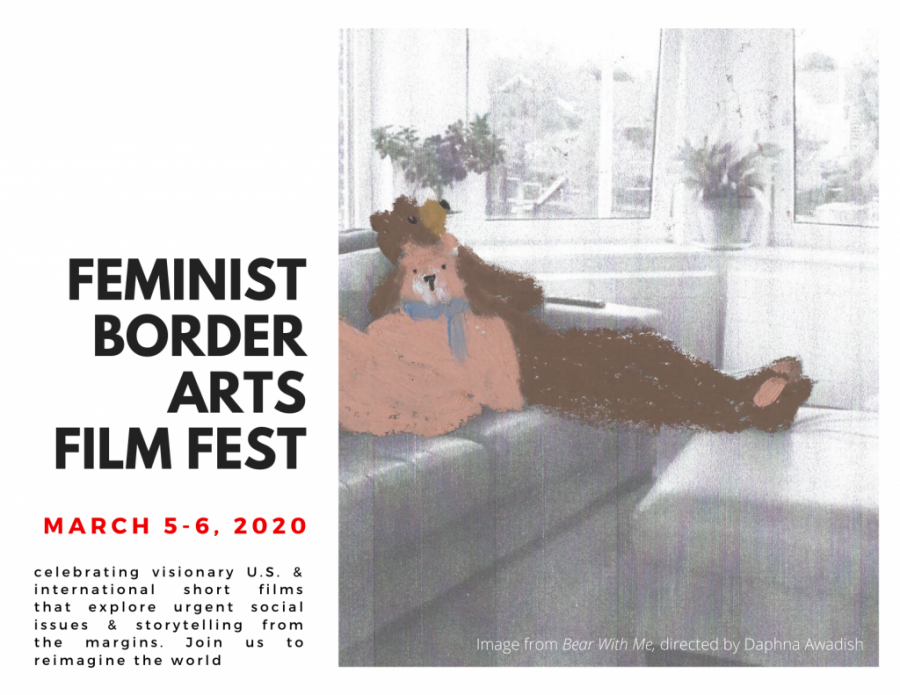 The+Feminist+Border+Arts+Film+Festival+was+held+March+5-6.+