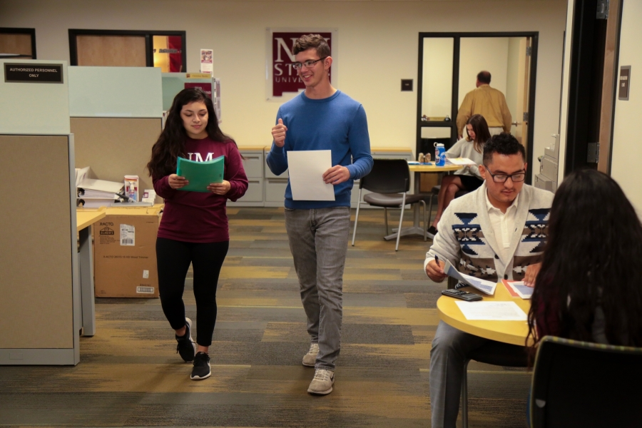 Inside the Student Success Center in Hardman and Jacobs Undergraduate Learning Center. (Courtesy NMSU Photo)