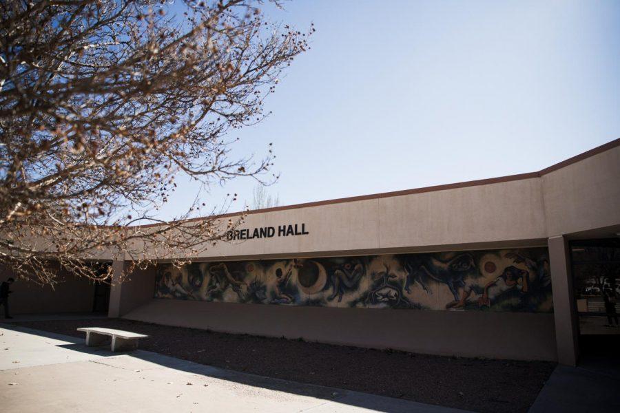 Breland+Hall+houses+the+Center+for+English+Language+Programs.