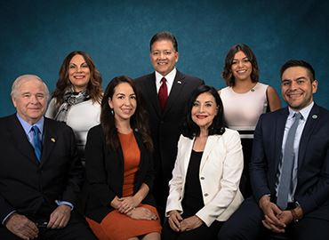 Members of the Las Cruces City Council. Photo courtest City of Las Cruces.