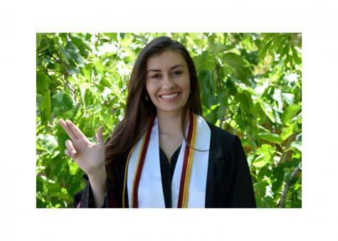 Leah Romero, News Editor 2019-2020.