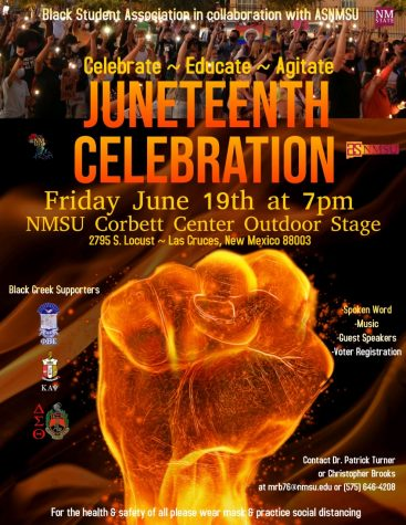 NMSU Black Student Association to host Junteenth this Friday at 7 p.m.