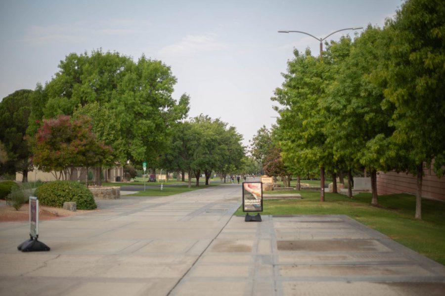 NMSU+campus+on+August+24%2C+2020