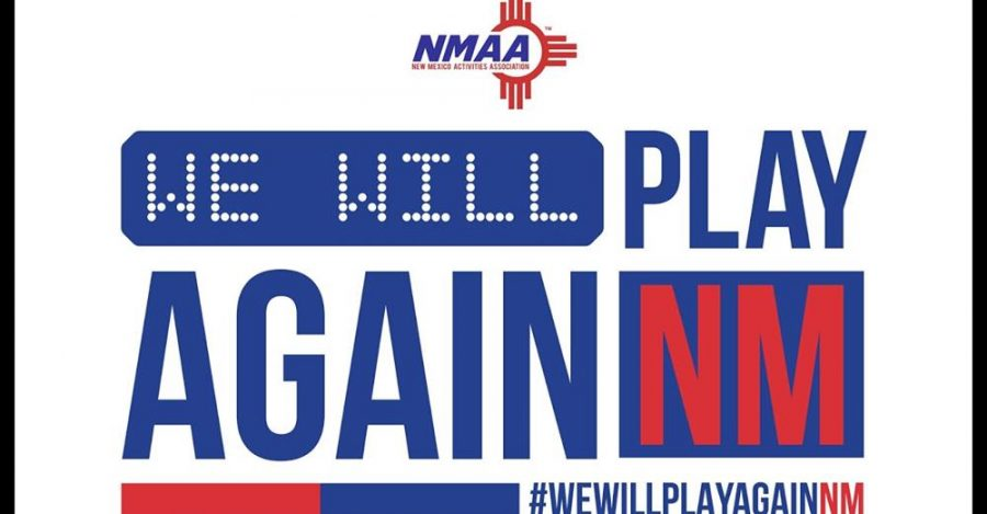 Governor Lujan Grisham elects to postpone fall sports for New Mexico high schools until the spring in response to the recent increase in COVID cases statewide. (Photo courtesy of the New Mexico Activities Association)
