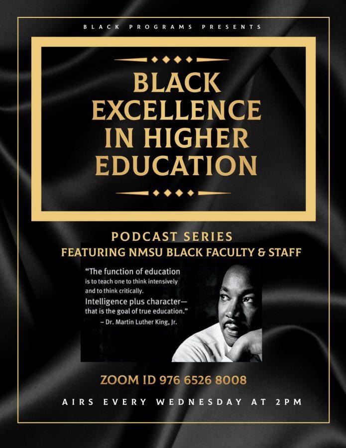 NMSU Black Programs creates podcast series featuring NMSU black faculty and staff