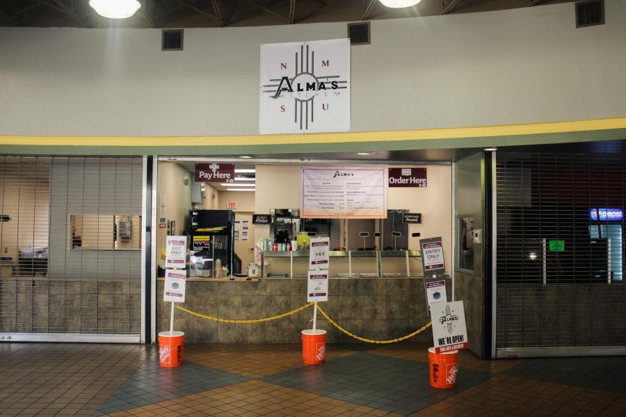 Almas Kitchen located in Frenger Food Court.