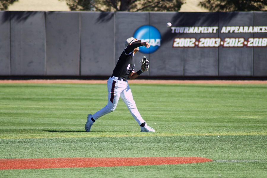 The Aggies brush off back-to-back losses to ACU in dominant 12-2 victory.