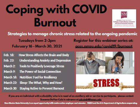 "College of ACES offers ""Coping with COVID Burnout"" webinar series"