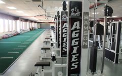 The NMSU Activity Center offers students space and equipment for exercise.
