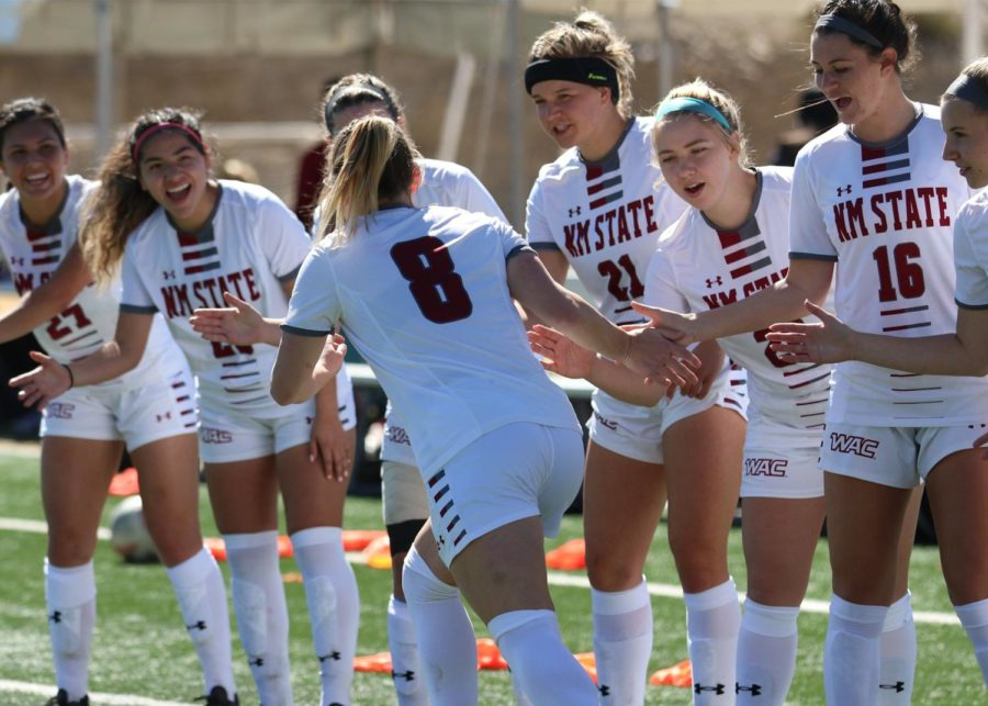 Aggies+upset+UTRGV+in+dominant+fashion%2C+clinch+first+WAC+Tournament+win+since+2014