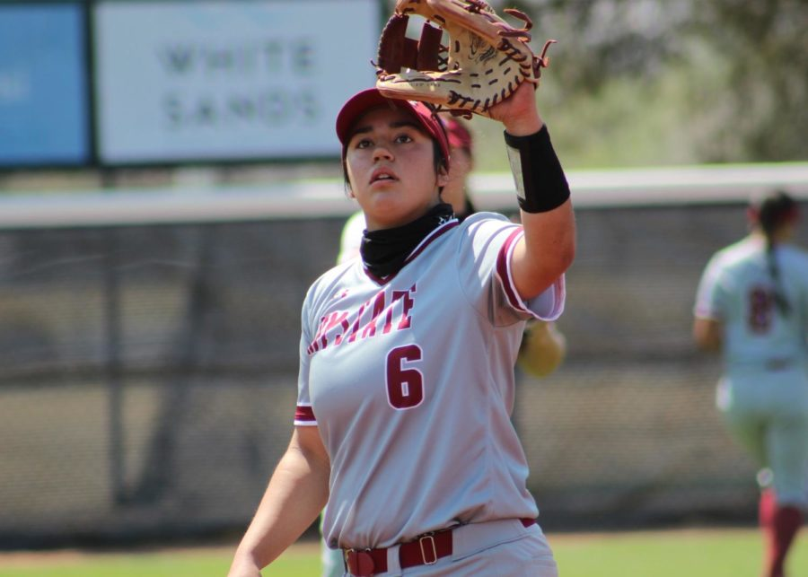 The Aggies seal a series victory over Grand Canyon with an 8-1 Saturday matinee win. (Photo courtesy of NMSU Athletics)