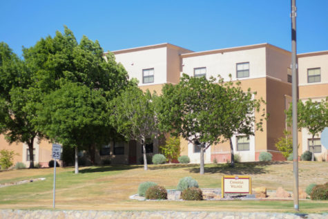 Chamisa Hall is one of several apartment-style housing options available at New Mexico State.